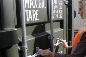 Seal container - seal niêm phong container xuất nhập khẩu.